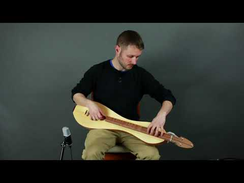 Aaron just posted another video of the nylon string dulcimer.