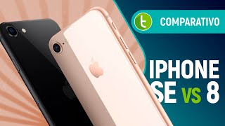 IPHONE SE vs IPHONE 8: qual celular MENOS CARO da Apple você deve ESCOLHER? | Comparativo