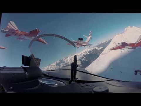 Patrouille Suisse at Lauberhorn Ski Race 2018 | VR Video (English)