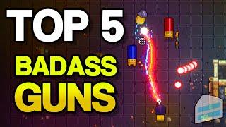 Top 5 Badass Guns in Enter The Gungeon - Personal Current Badass Guns (OUTDATED) Video