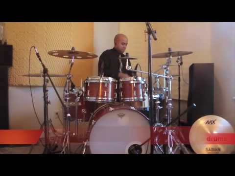 Fred Hammond - Let the Praise began (drum cover)