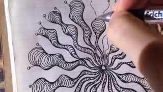урок#1. как рисовать дудлинг