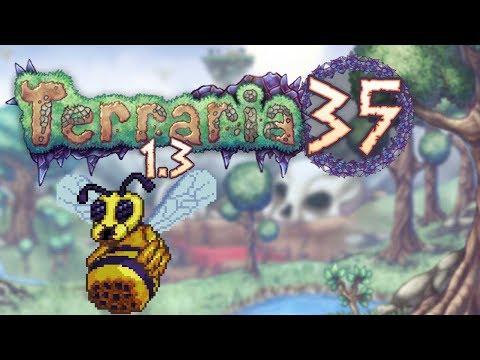 Terraria 1.3 Part 35 - QUEEN BEE