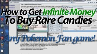 How to Get Infinite Money / Infinite Rare Candies - Reborn / Any Pokemon Fan Game