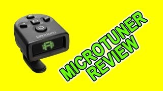 Guitar Tuner Review - NS Micro Tuner by D