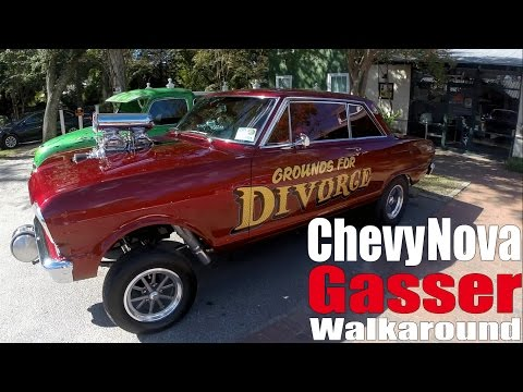 Chevy Nova Gasser, Grounds for Divorce! Walk Around Wednesday
