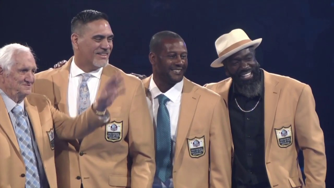 separation shoes fdf8f 2a203 Gold Jacket Dinner | Pro Football Hall of Fame (2019)
