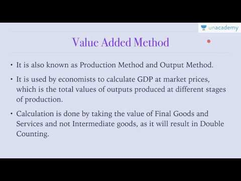 Unacademy Economics lecture for IAS: National Income Accounting : How To Measure National Income (1)