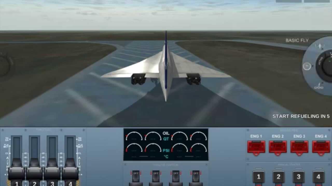 Extreme Landings Pro Flight Simulator Walk Through Super Sonic Aircraft Youtube