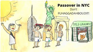 Passover story parody - Moses and Pharaoh in NYC