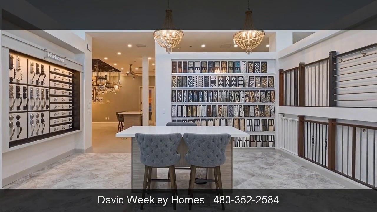 David Weekley Homes Design Center Tempe Az Youtube