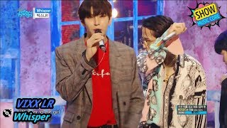Comeback Stage VIXX LR Whisper 빅스LR 위스퍼 Show Music core