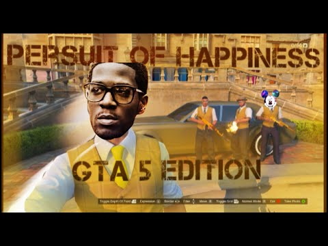 Persuit of happiness by Kid cuddi Official Music Video   Gta 5 edition  