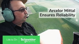 IoT EcoStruxure™ at Dunkirk, Arcelor Mittal Ensures Reliability