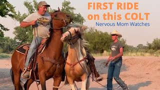 BREAKING A HORSE  | FIRST RIDE EVER
