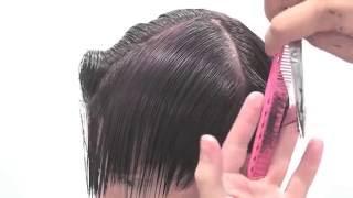КОРОТКАЯ градуированная стрижка Short graduated haircut(Короткая стрижка