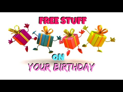 how to get free stuff on your birthday in canada