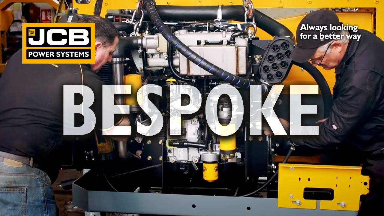 Bespoke Package Engine Application Solutions - JCB Power Systems