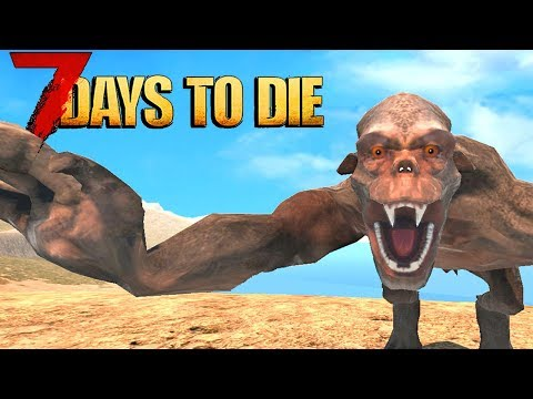 😱 7 Days To Die SCARIEST MOD PACK EVER 😱 7 Days To Die Modded LIVESTREAM!