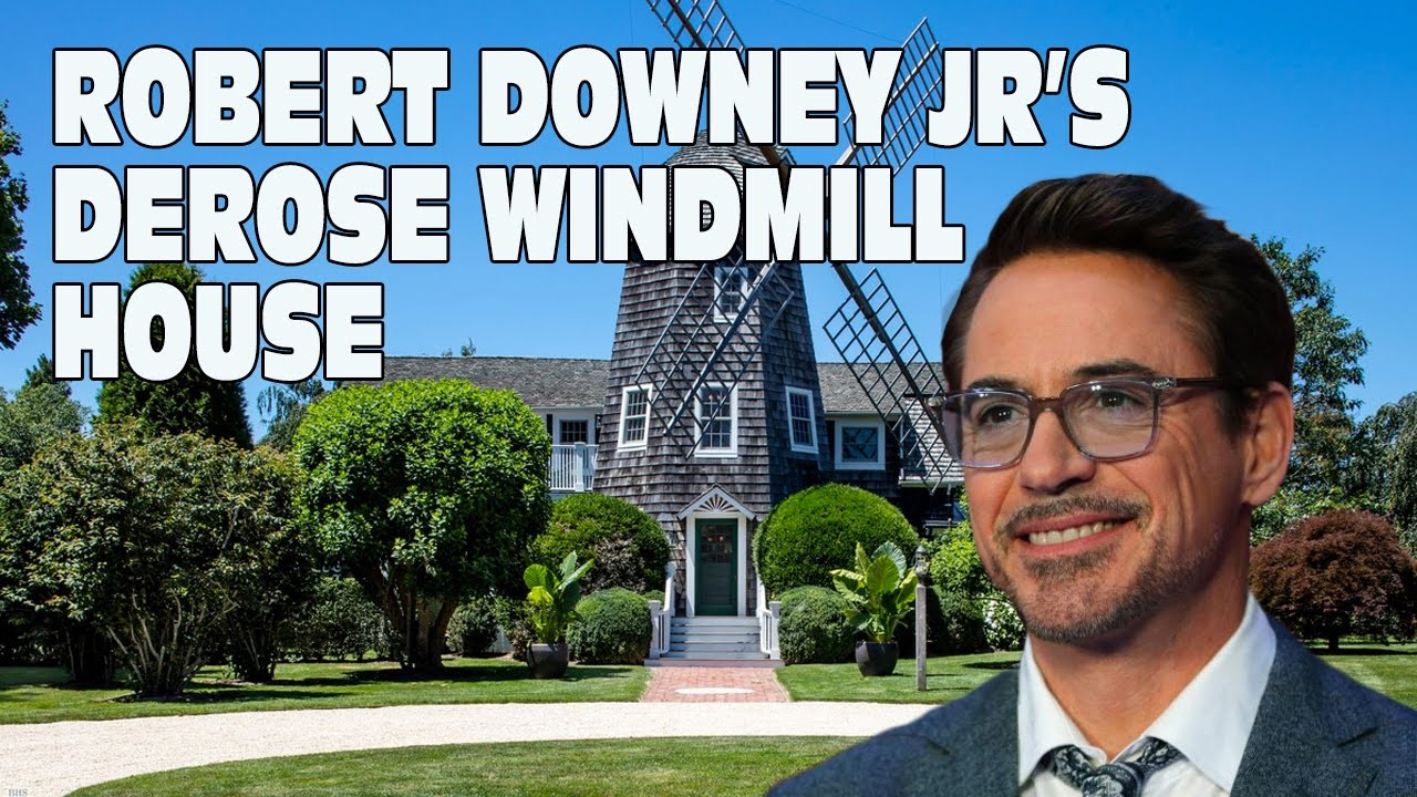 robert downey jr 39 s derose windmill house tour 2017 youtube. Black Bedroom Furniture Sets. Home Design Ideas