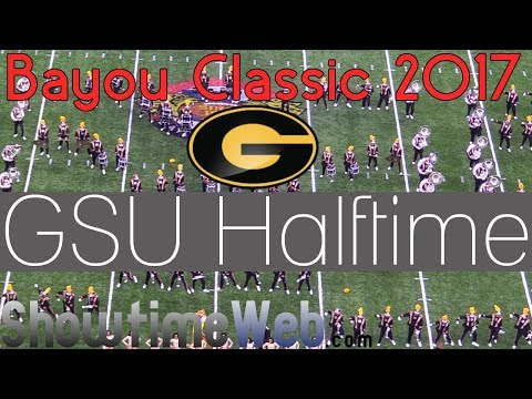 Grambling State University Marching Band Halftime Show - GSU 2017 Bayou Classic Game