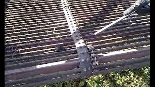 Трактор картофелекопалка, жөндеу таспалар
