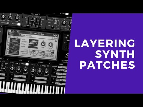 Synth Tutorial - Layering Synth Patches with Sylenth1