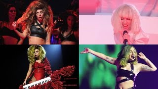 Lady Gaga - Sexxx Dreams [Live Comparison]