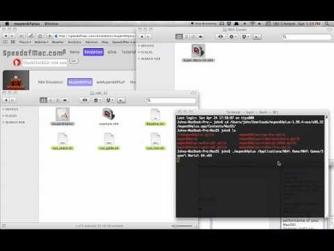 Launch Games with Mupen64Plus - SpeedofMac com