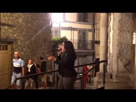Videos de Andorra Actuación de LIA de CUBA en l'ARROSSERIA ANDORRA