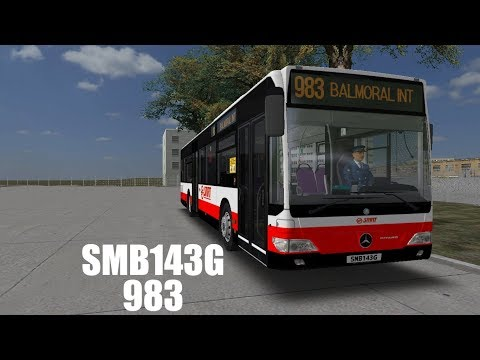 [OMSI 2]SMB143G Woodlands City 983(Balmoral Loop)