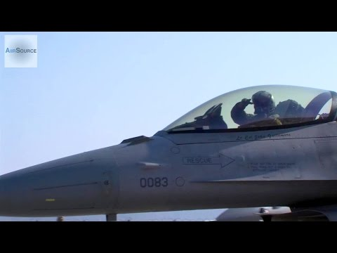 F-16 Fighters In Action