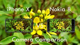 iPhone X Vs Nokia 8 Camera Comparison