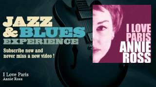 Annie Ross - I Love Paris - JazzAndBluesExperience