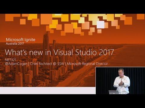 What's New in Visual Studio 2017 + VS Code | Adam Cogan - SSW TV