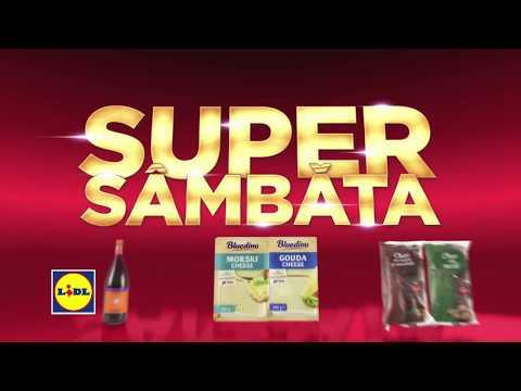 Super Sambata la Lidl • 1 Decembrie 2018
