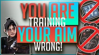 You Are Training YOUR AIM Wrong | In Depth Aim Guide | APEX Legends
