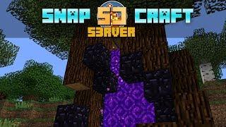 SnapCraft #03 :: Portal w Drzewie & Winda Itemów