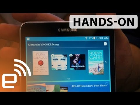 Samsung Galaxy Tab 4 Nook hands-on | Engadget