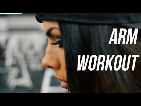 Priscilla Tuft Arm Workout | Girls Arm Workout