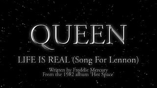 Download Queen - Life Is Real (Song For Lennon) (Official Lyric Video)