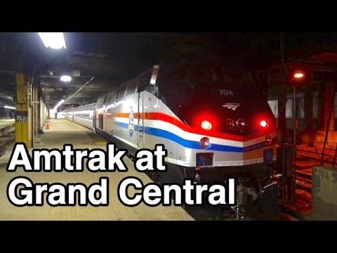⁴ᴷ Amtrak at Grand Central Terminal