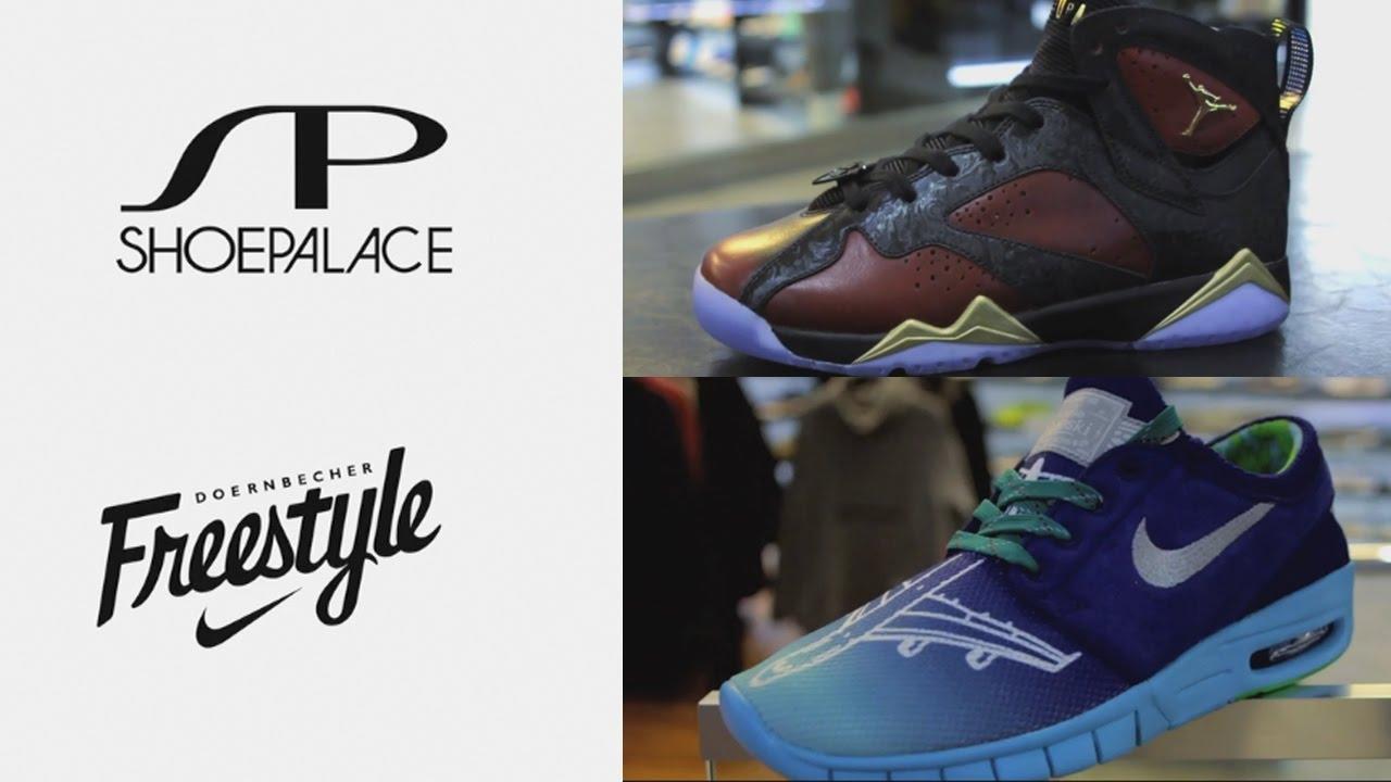 8c2237db6bef Nike Doernbecher Freestyle 2016 Launch at Shoe Palace - YouTube