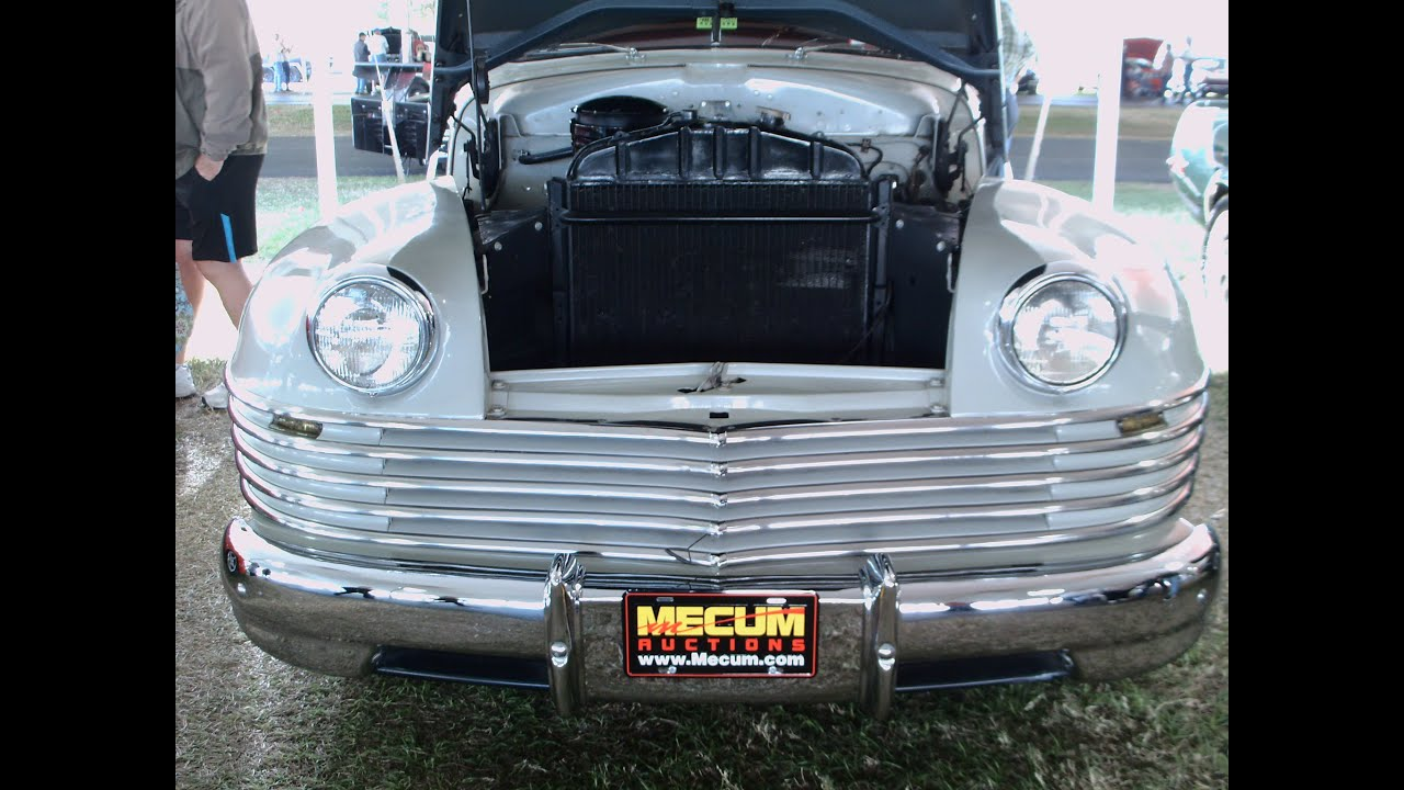 1942 Chrysler Windsor Business Coupe Wht Kissimmeea012014 Youtube 1949 Town And Country Hubcaps