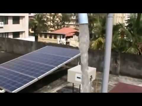 3-phase Solar Pump Inverter with MPPT and VFD