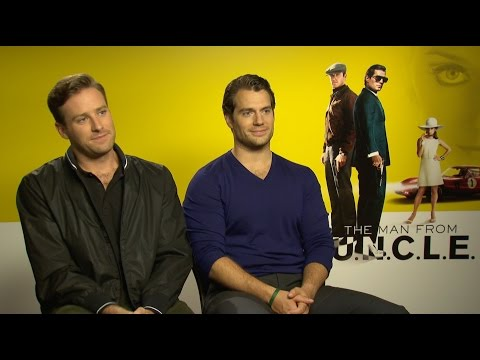 """The Man from U.N.C.L.E. Cast Plays """"Would You Rather"""""""