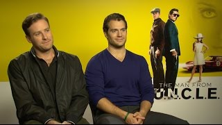 "The Man from U.N.C.L.E. Cast Plays ""Would You Rather"""