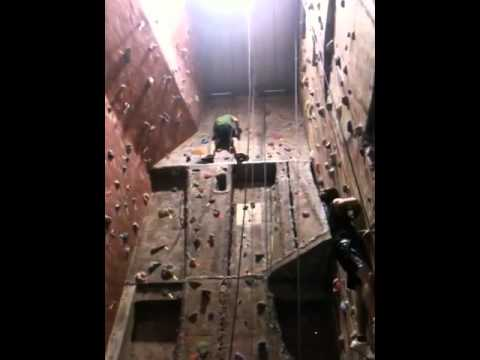 Climbing at Stonehenge in Modesto, Ca