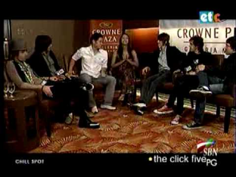 Chill Spot Karen & Kenny Interview Click 5 in Manila