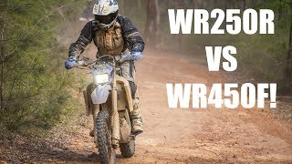 WR250R VS WR450F! WR250R Rally Part 6!